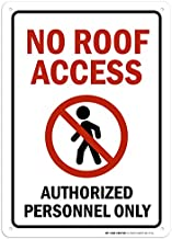 Best no roof access sign Reviews