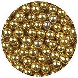 Oasis Supply Dragees Gold Sugar Cake Cupcake Cookie Sprinkles, 4mm