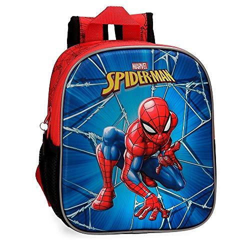 Marvel Spiderman Black Zainetto per bambini 25 centimeters 5.25 Multicolore (Multicolor)