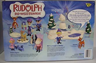 Rudolph the red nosed Reindeer We're A Couple of Misfits Hermey and Rudolph Playset