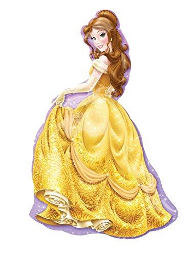 Disney Princess Belle 39 Inch Mylar Foil Balloon Supershape XL-1 Piece