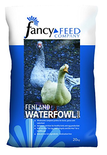 Fancy Feed Company Fenland Waterfowl Pellets Complete Feed, 20 kg