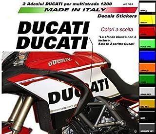 Suchergebnis Auf Für Multistrada 1200 Aufkleber Magnete Zubehör Auto Motorrad