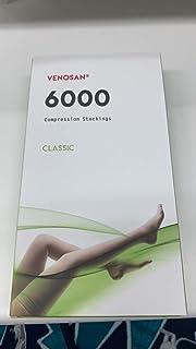ベノサン 6000 医療用弾性ストッキング(クラス2、ロング) (黒, Mつま先あり)