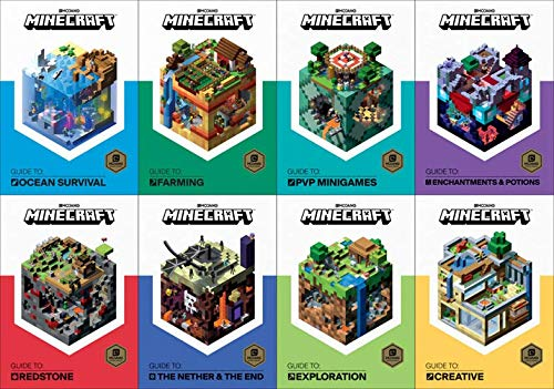 Minecraft Guide Books, 8-Book Collection