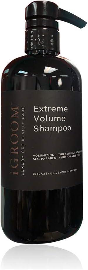 iGroom Max Long Beach Mall 67% OFF Extreme Volume Shampoo oz. 16 -