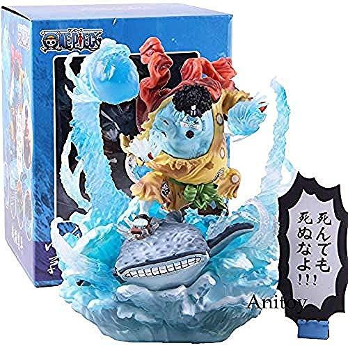 LTMM Anime One Piece Jinbe Battle Damage Version PVC Jimbei One Piece