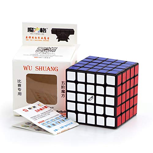 Qiyi Wushuang 5x5 Black Magic Cube MoFangGe MFG Wuchuang 5x5x5