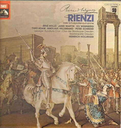 Richard Wagner , Staatskapelle Dresden , Heinrich Hollreiser - Rienzi - His Master's Voice - 1 C193-02 776/80 Q, His Master's Voice - 1 C 193-02 776/80 Q, His Master's Voice - 1C 193-02 776/80 Q