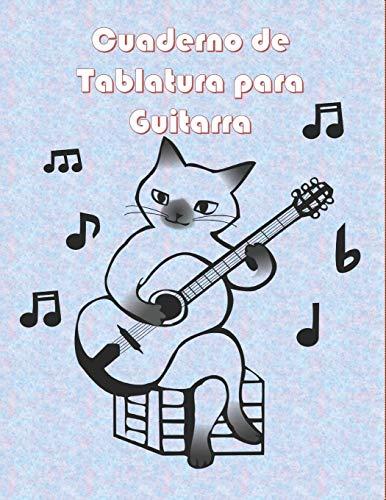 Cuaderno de Tablatura para Guitarra: 10 Tabs por página en...