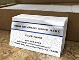 Custom Premium Business Cards 500 pcs Full color - Metal Panel (129 lbs. 350gsm-Thick paper), UV...