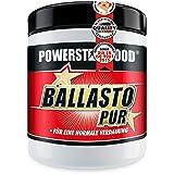 BALLASTO PUR - Prebiotisches Ballaststoff Pulver aus Inulin & Haferfasern - Zur gesunden Darmpflege & normalen Verdauung - Pharmaqualität -