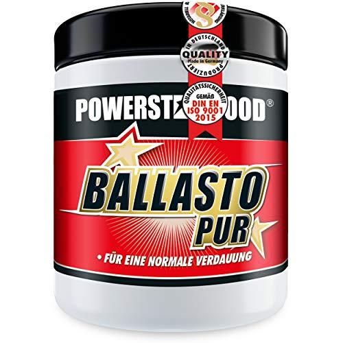 BALLASTO PUR - Prebiotisches Ballaststoff Pulver aus Inulin & Haferfasern - Zur gesunden Darmpflege & normalen Verdauung - Pharmaqualität - Vegan - Made in Germany - 300g