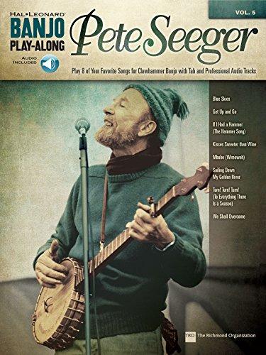Pete Seeger: Banjo Play-Along Volume 5 (Hal Leonard Banjo Play-Along) (English Edition)