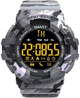 XNNDD Reloj Inteligente Batería Larga Llamada Recordatorio de SMS Fitness Deportes Hombres y Mujeres Inteligentes Deportes Profundidad del Reloj Resistente al Agua