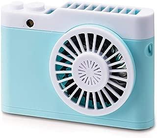 HAIMEI-WU Miniskirt USB Charging Fan 3 Gear Wind Electric Fan Outside Indoor Desktop Personal Fans Mini Electric Fan (Color : 04)