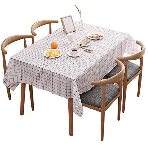 テーブルクロス テーブルマット テーブルカバー ビニール 撥水 防油 PVC 家庭用 業務用 長方形 INS 厚手 拭きやすい