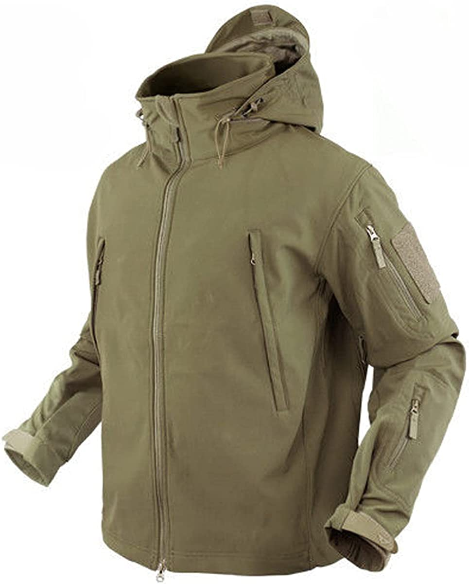 Condor Summit Soft Shell Tactical Jacket Coyote Size security Limited time trial price Color Tan