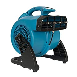 cheap XPOWER FM-48 1/8 HP 600 CFM 3 Speed Portable Outdoor Fog Fan – Blue