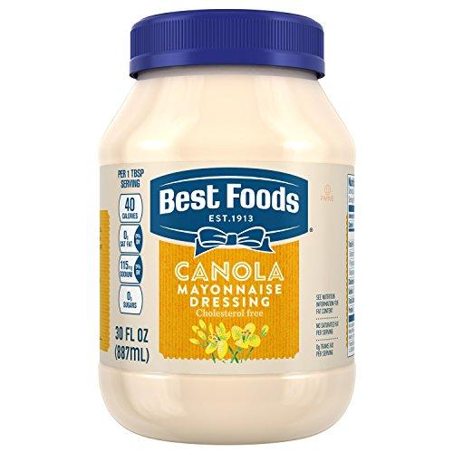 food mayonnaises Best Foods Mayonnaise Dressing, Canola Cholesterol Free, 30 oz