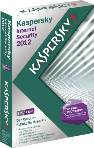 Kaspersky internet security 2012 (3 postes, 1 an) [import allemand]