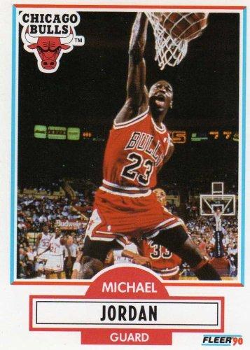 1990-91 Fleer Michael Jordan Basketball Card #26 - Shipped In Protective Display Case!