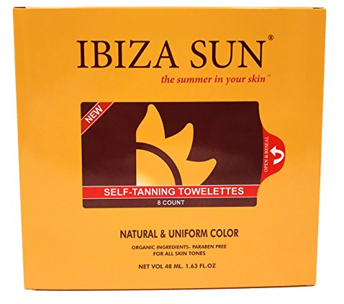 Ibiza Sun Sunless Tanning Wipe Application