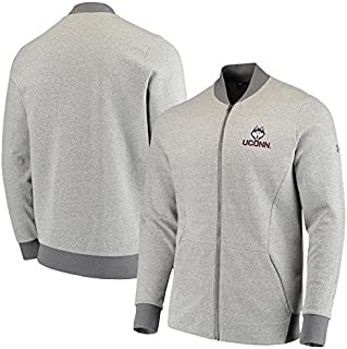 Under Armour Under Armour UConn Huskies Heathered Gray Tri-Blend Fleece Full-Zip Performance Bomber Jacket スポーツ用品 【並行輸入品】