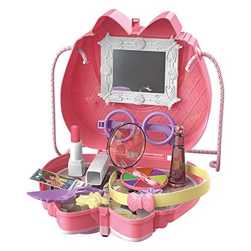 Bomoya Set de utensilios de cocina para maquillaje de juguetes para niños niñas regalo de cumpleaños simulación cocina juguetes caso