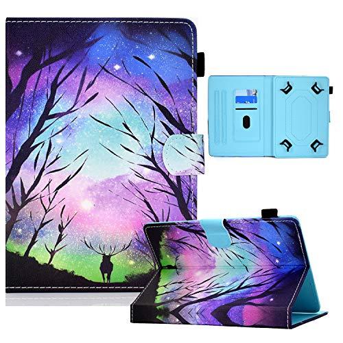Acelive Funda Universal para Tableta 7 Pulgadas Samsung SM-T280 Galaxy Tab A, Lenovo Tab E7/M7, Dragon Touch M7/Y88Y Pro, Haehne/HAOQIN/Winnovo 7'
