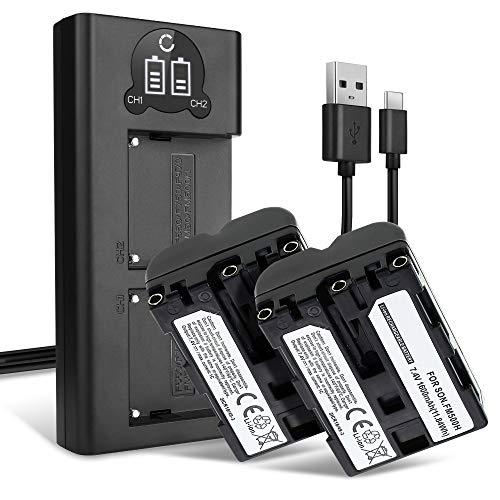 CELLONIC 2X Batería Compatible con Sony Alpha A57 A58 SLT-A58 A65 A68...