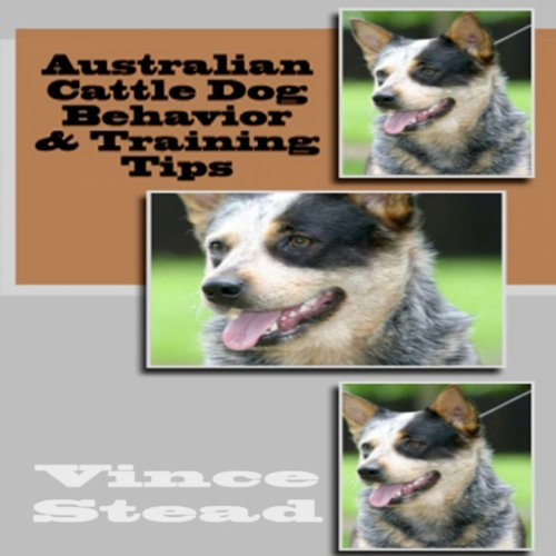 Australian Cattle Dog Behavior & Training Tips audiobook cover art