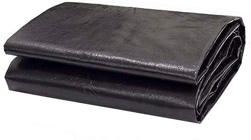 MuMa Bache PE Noir épaissir Imperméable Crème Solaire Imperméable Ombre Plastique De Plein Air (Couleur   Noir, Taille   4  5M)