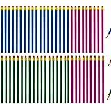 HB Lápices con borrador Conjunto de hexágono de grafito de madera básico natural para dibujo,Escritura de útiles, o Escolares de oficina 19cm * 0.7 cm (60 unidades)