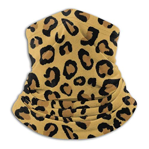 Multifuncional uso turbante cuello polaina mas-k pasamontañas anti-UV polvo calentador de cuello unisex 3d Rose Animal Print Tigre Negro Oro