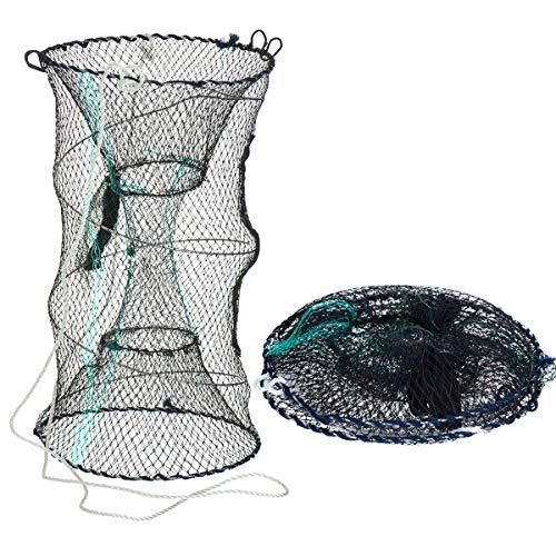 Trampa de red para pesca FiNeWaY, para cangrejos, gambas, camarones, langostas