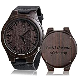 Watch With The Words Until End Of Time On It Makes A Great Gift For Your Long Distance Boyfriend Perfect His Birthday Or Anniversary