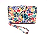 ALL IN ONE Women's Faux Leather MUNDI WALLET Ladies RFID Protection One Size i905x (Multi-Floral)