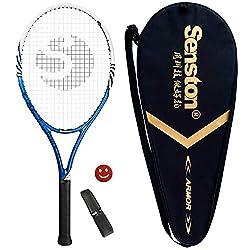 in budget affordable Senston Tennis Racket, 27 inch, Professional Tennis Racket, Good Grip, Tight …