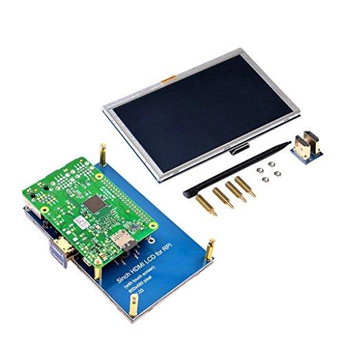 D DOLITY de 55Pulgadas TFT Pantalla LCD Pantalla LCD Pantalla Módulo para Raspberry Pi