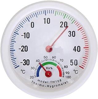 Mini thermomètre hygromètre en forme de cloche avec écran LCD numérique pour la maison, le bureau, la promotion murale, ou...