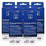 5x Bosch TCZ6001 Reinigungstabletten für Kaffee Vollautomaten TCA 5, TCA 6...