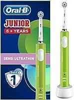Oral-B Junior Elektrisk Tandborste, 6+ År, Grön