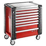 Facom Jet.8M4 Tool trolley, Metal, Red