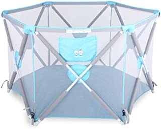 Baby playpen with mat  foldable Prevent rollover Safety Play Yard Breathable Non-Toxic Materials Baby Products for outdoor indoor girls boys playpens Fence