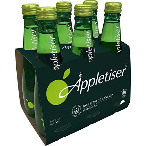 Appletiser Refresco de 100 % Zumo de Manzana con Burbujas Finas - Pack de 6 botellas x 275 ml - Total: 1.65 l