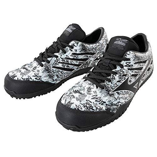 [ミズノ] 安全靴 TD11L F1GA1900 | 10:ホワイト×ブラック 25.0cm