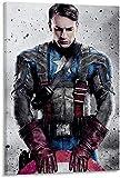 FANLA The Avengers Marvel Film Captain America Leinwand