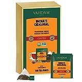 VAHDAM, Bolsas Se Té Masala Chai latte Originales de la India, 100 bolsas de té, 100% de especias...