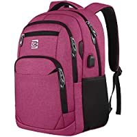 Volher Business Travel Anti Theft Slim Durable Laptop Backpack